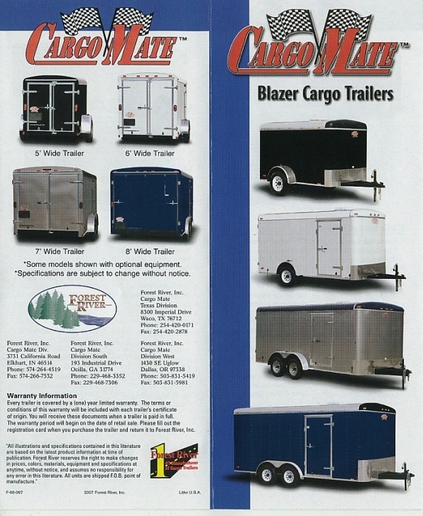 cargo mate trailer wiring diagram wiring diagram and schematic cargo mate enclosed trailers trailer