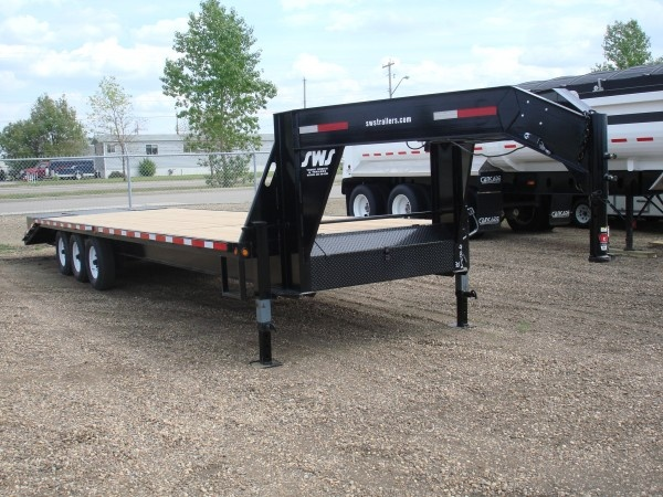 Remarkable Heavy Duty Gooseneck Triple Axle Trailers Sws Truck Bodies Trailers Wiring Digital Resources Xeirawoestevosnl