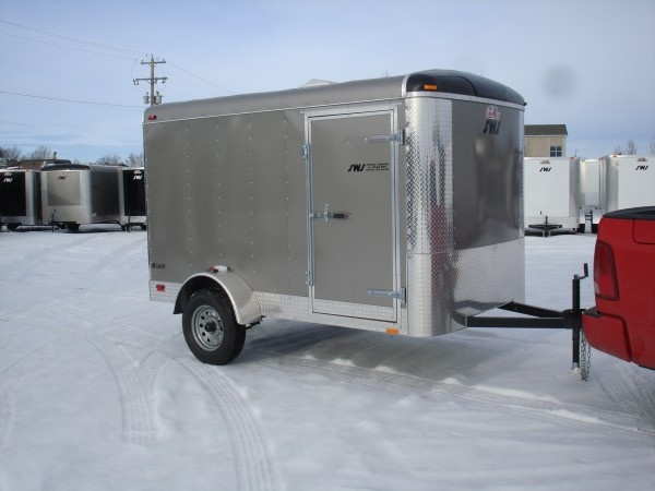 enclosed cargo trailers sws truck bodies trailers 4